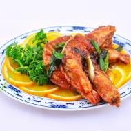 Crevettes saté