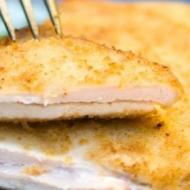 Filet de poulet pané