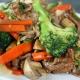 Boeuf chop suey