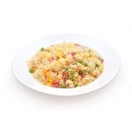 Riz cantonais au poulet