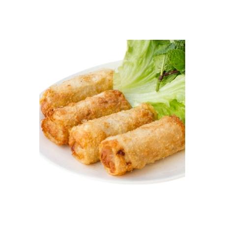 Nems au porc ou au poulet (4 pièces)