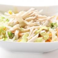 Salade chinoise au poulet-jambon