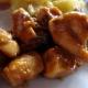 Filet de poulet au caramel