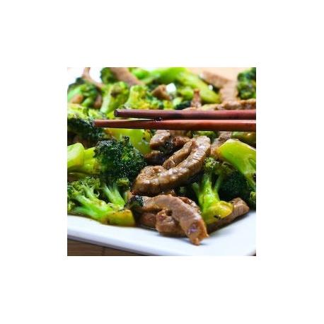 Boeuf aux brocolis