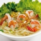 Nouilles aux crevettes