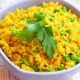 Riz cantonais au curry
